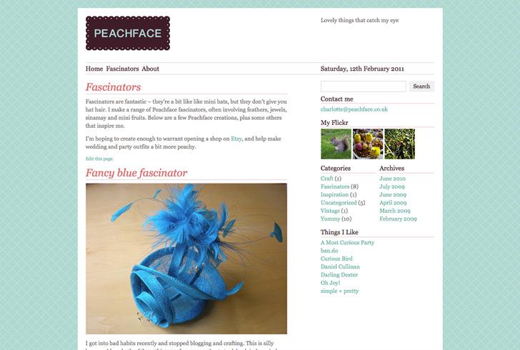 Fascinators page
