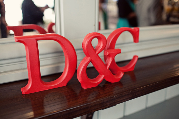 Wooden lettering